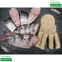 Großes Grillfisch set