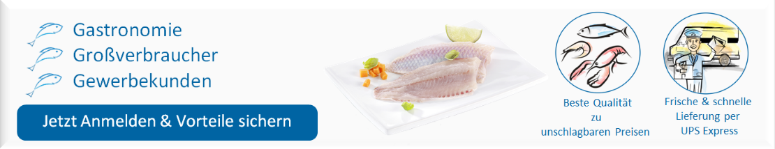 Gastronomie, Großkunden, Gewerbekunden Anmeldung, sachsenfisch.de